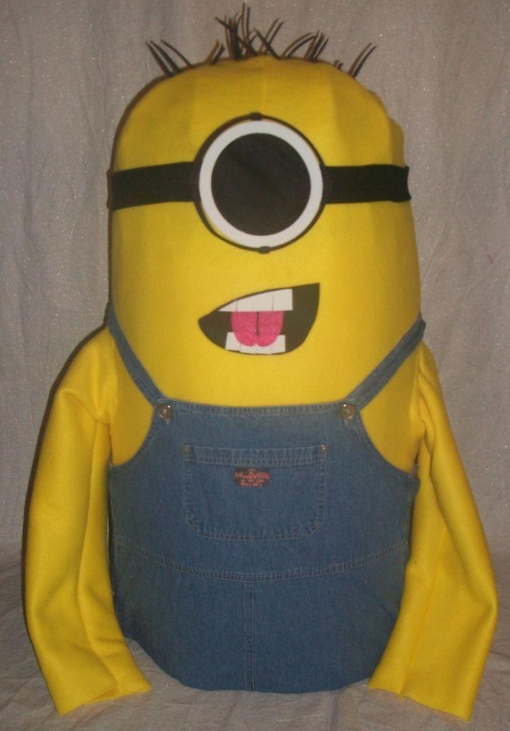 DIY Minion Halloween Mascot Costume #Despicable_Me #movie #imitation