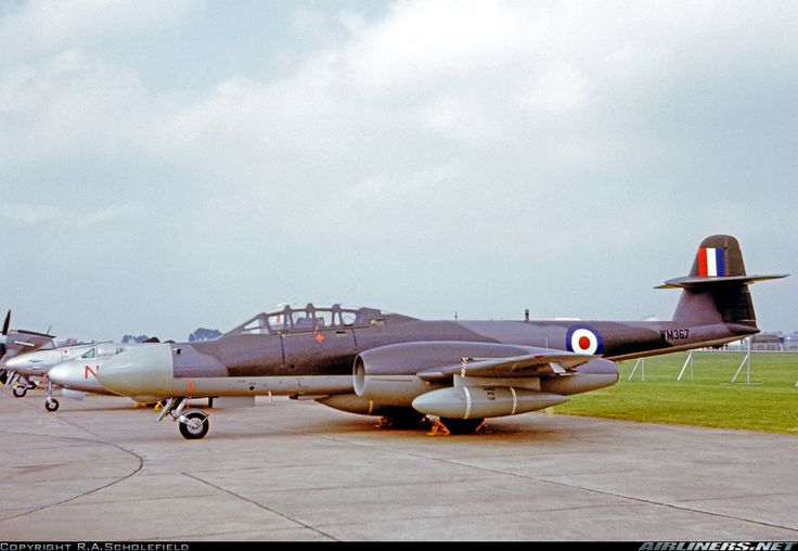 Operated as a test aircraft by A&AEE Boscombe Down. Exhibited at the RAF 50th Anniversary display at RAF Abingdon. - Photo taken at Abingdon (ABB) in England, United Kingdom on June 15, 1968.