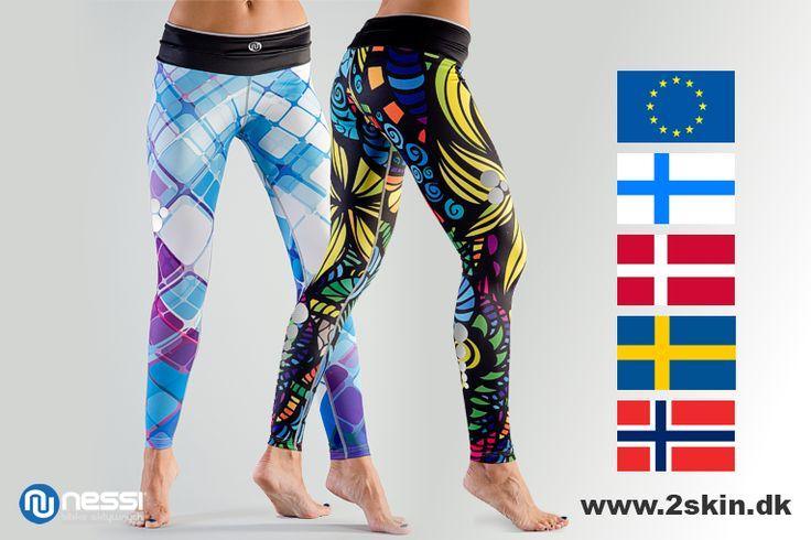 Nessi Leggings can buy in Denmark, Sweden, Finland, Norway, Uk   Buy your favorite from www.2skin.dk