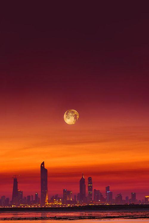 "imalikshake: "" Moon City by Mohammed Al-SULTAN """
