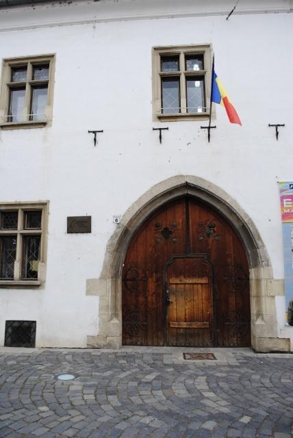 Kolozsvár, the house where János Hunyadi ( Regent-Governor of the Kingdom of Hungary, the hero of the fights against the Ottomans) was born.