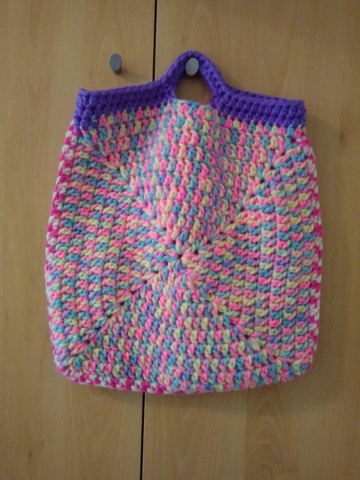 Spring Crochet Bag