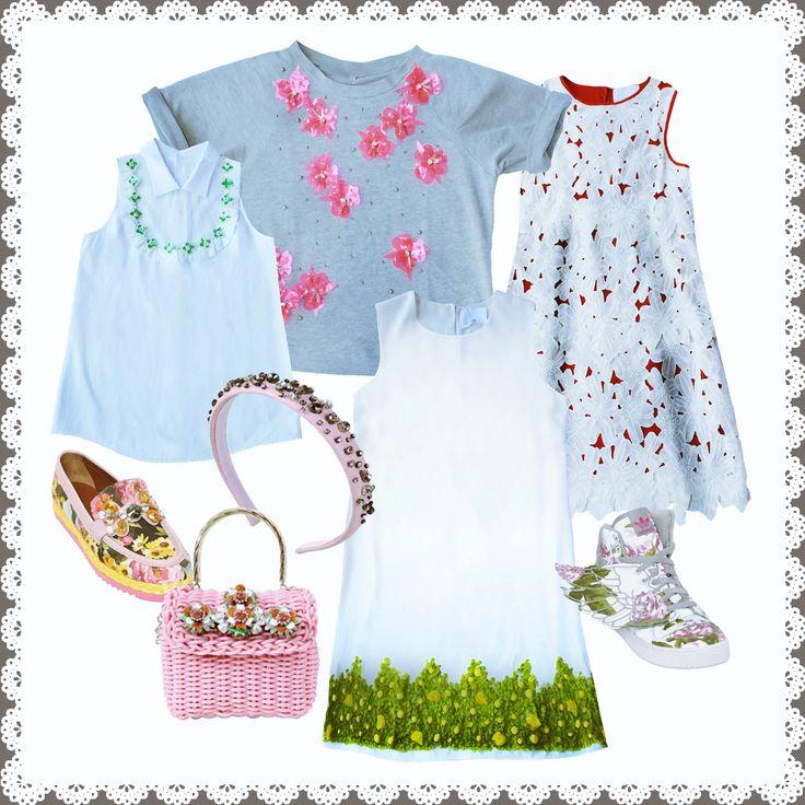 Primavera ha solo una parola che la descrive sempre alla perfezione: FLOWER...e per questa stagione è davvero un MUST...che siano POP, ROMANTICI, ROCK o STREETWEAR il risultato sarà sempre perfetto!! Vi piace la nostra proposta? #princessemetropolitaine #springsummer #collection #flower #musthave