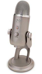 Amazon.com: Blue Microphones Yeti USB Microphone - Platinum Edition with Blue Mics Pop Filter and Sennheiser HD 202 II Professional Headphones: Musical Instruments