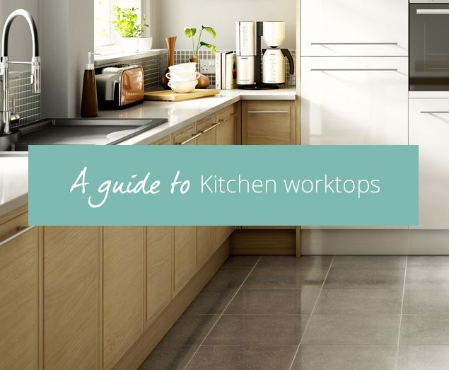 Confused about kitchen worktops? Here's our concise guide to the pros and cons of granite and laminate to wood and stainless steel...