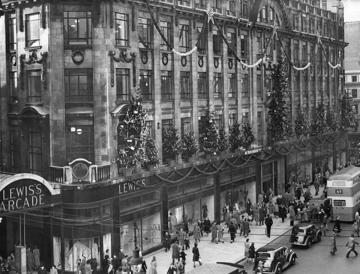 Our nostalgic images capture how the busy shopping street has changed since the start of the twentieth century