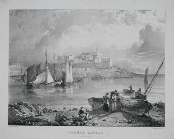 Castle Cornet, 1830.