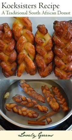 Koeksisters Recipe - a traditional South African donut made with a simple dough and sweet, spiced syrup. YUM!