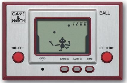 A Guide to the Nintendo Game & Watch Handheld Games of the 80's