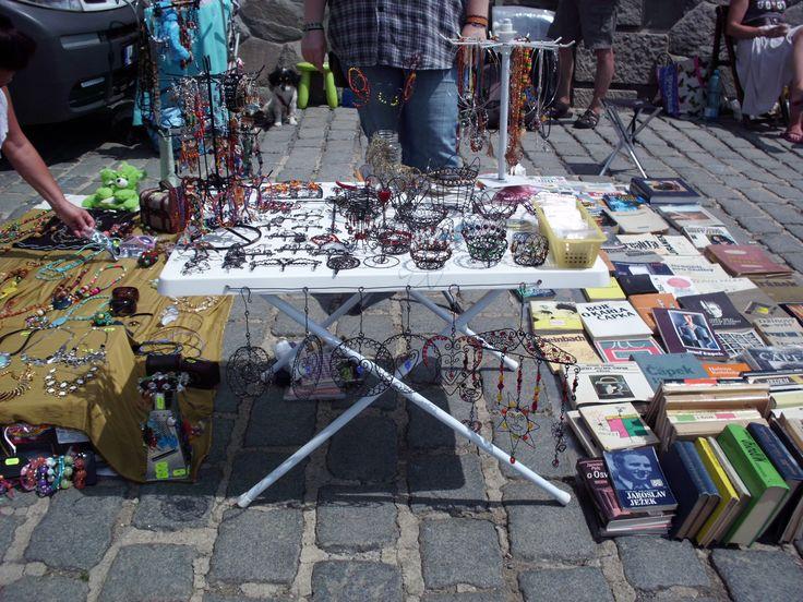 at the Flea Market Naplavka