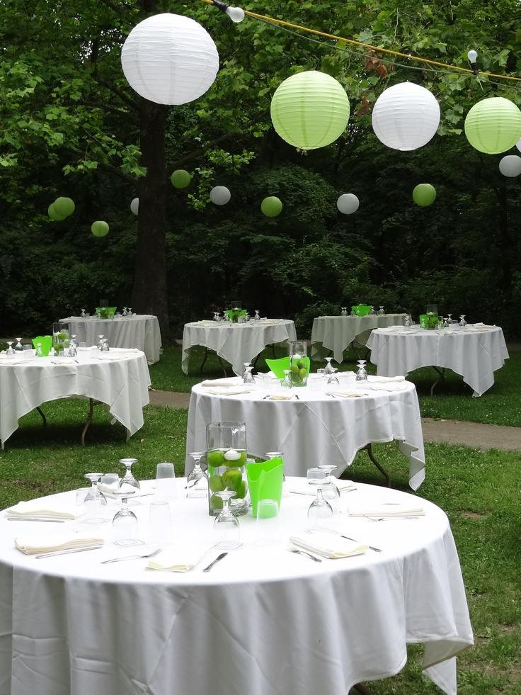 Great Idea For Outdoor Wedding Lighting The White And