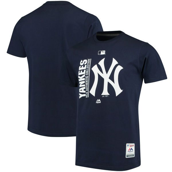 New York Yankees Majestic Authentic Collection Team Icon T-Shirt - Navy - $29.99