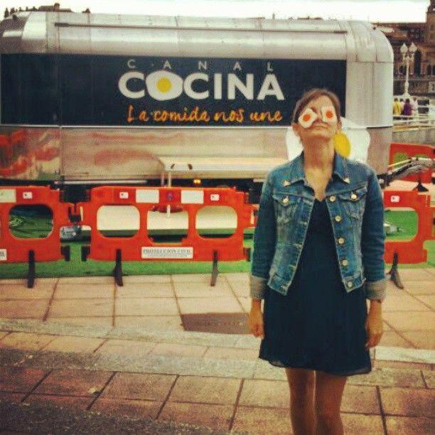 Foto de paulihs salamanca junto a la caravana de canal for Canal cocina concursos