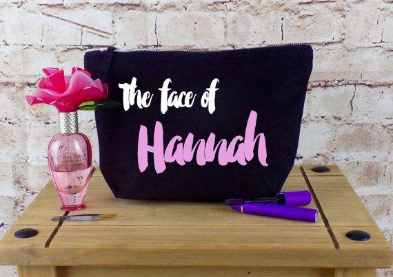 Personalised Make Up Bag Or Wash Bag by ThePersonalWeddingCo