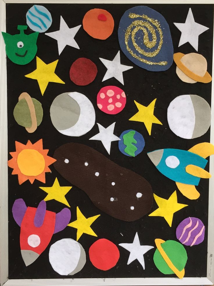 171 best early literacy kits images on pinterest early for Outer space theme
