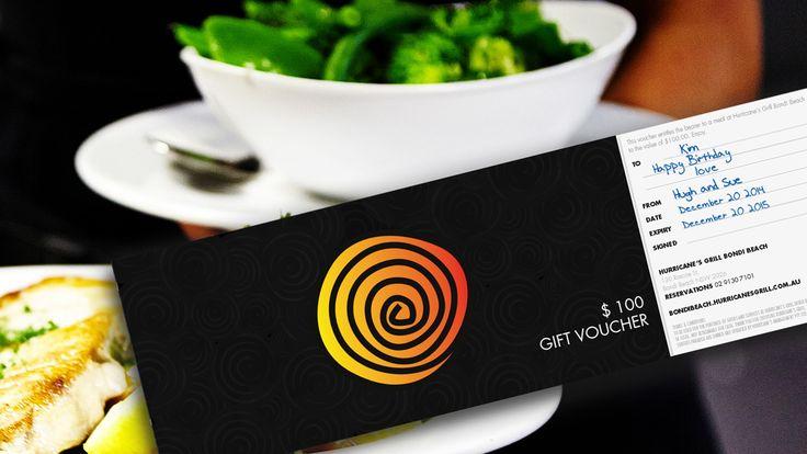 Gift Vouchers Hurricane's Grill Bondi Beach
