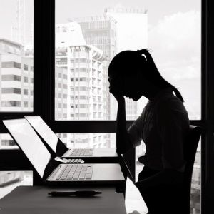Unhappiness at work may lead to ill health in middle age