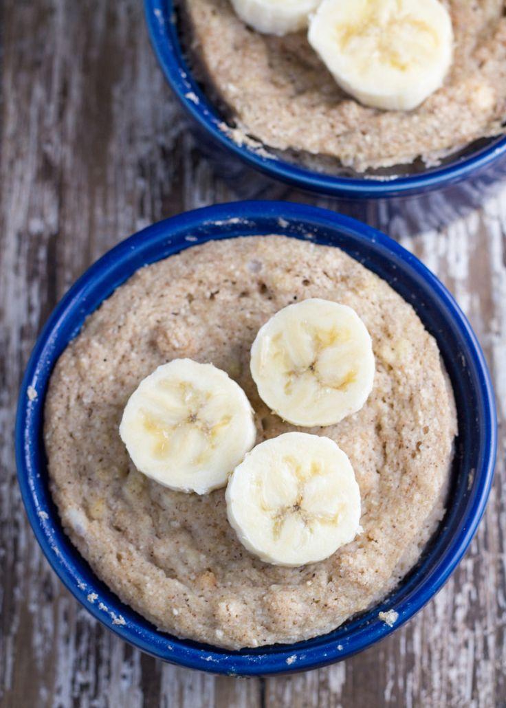 Start your day with this Banana Mug Cake.