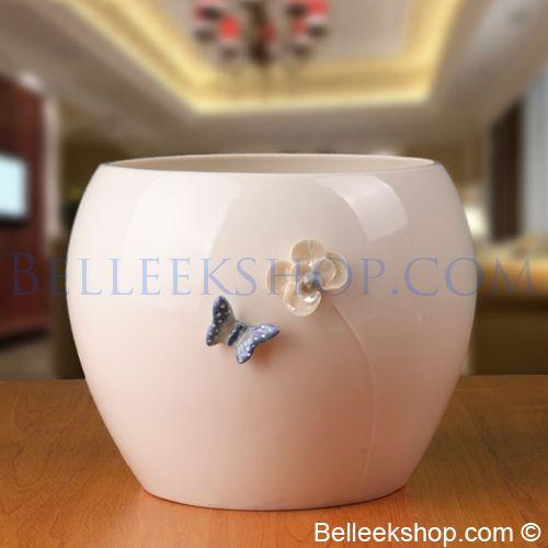 Belleek Living Azure Flower Pot