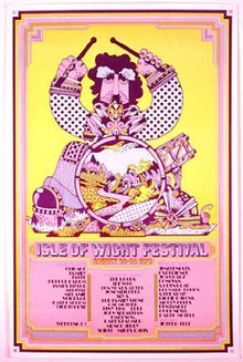 The preceding Isle of Wight Festivals, also promoted by the Foulks, had already gained a good reputation in 1968 and 1969 by