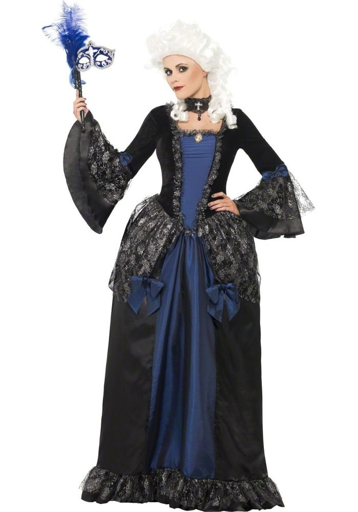 sale adult baroque beauty ladies halloween masquerade fancy dress costume outfit in clothes shoes accessories fancy dress period costume fancy dress - Masquerade Costumes Halloween