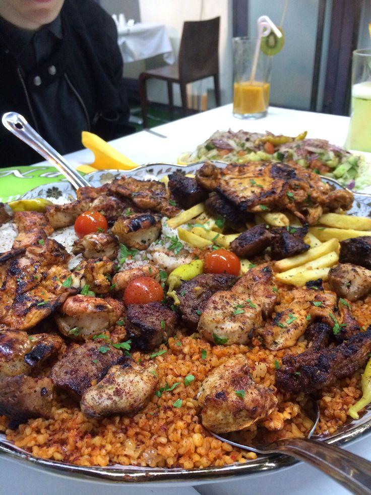 Lebanese food in Cardiff. Naroush.