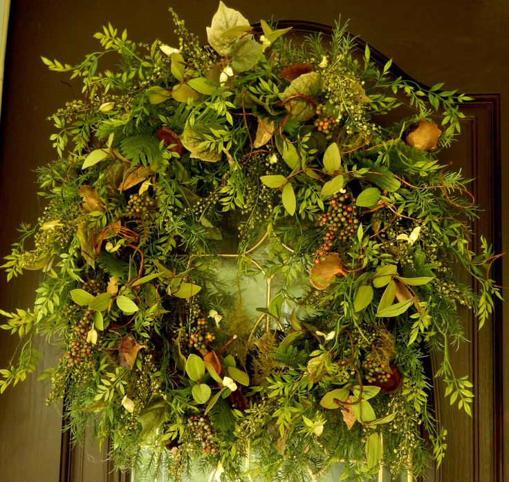 Spring Wreath Summer Wreath Wreaths Woodland by forevermore1
