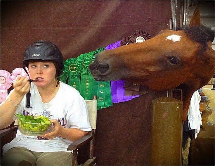 I see salad......