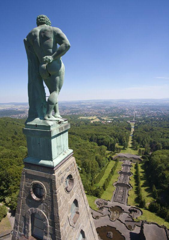 Unesco Bergpark Wilhelmshöhe - Herkules in Kassel Hessen Germany