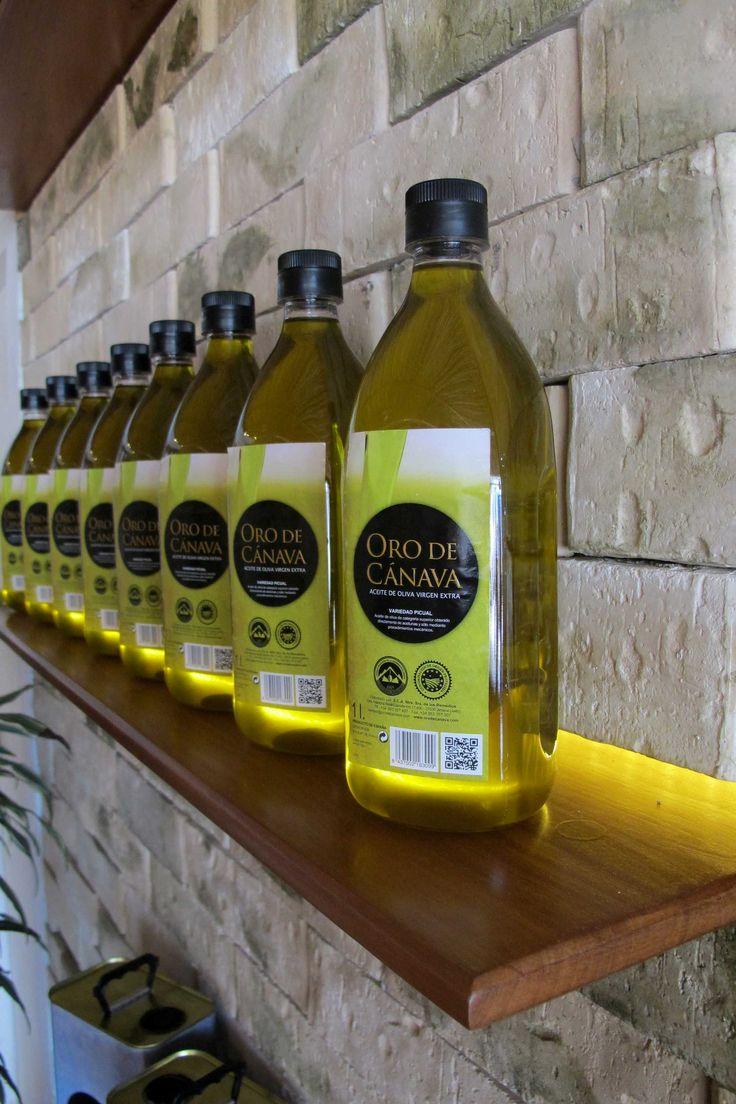 "Aceite virgen extra 'Oro de Cánava' con D.O. ""Sierra Mágina"""