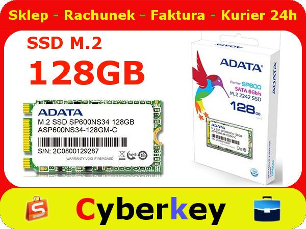 SSD Premier SP600 M.2 2242 128GB SATA3 4cm ADATA