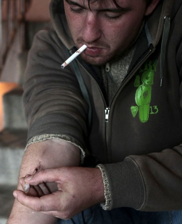 KROKODIL: Maybe the scariest drugs of all.... The heroin problem in Russia, combined with rampant poverty, has resulted in an unfortunate amount of drug users seeking cheap heroin alternatives. | Russia's Flesh-Eating Drug Krokodil Has Arrived In The U.S. And Here's Why That Should Scare You