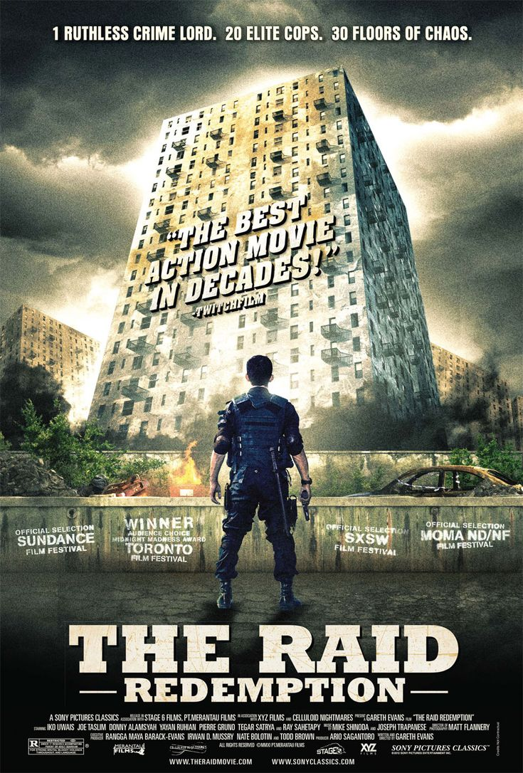 The Raid- Badass movie and this is coming from a chic. Can't wait for the second one!