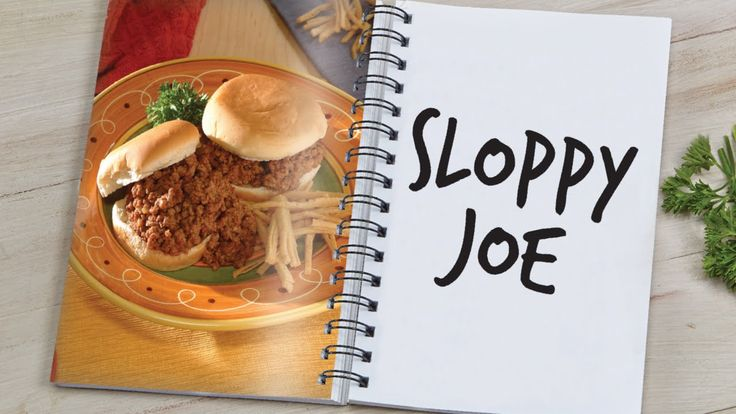Link, Recipe and Sloppy joes recipe on Pinterest