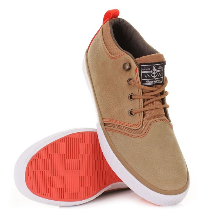 Quiksilver Shoes  Quiksilver Carving Suede Mens Casual Shoes Brown Combo