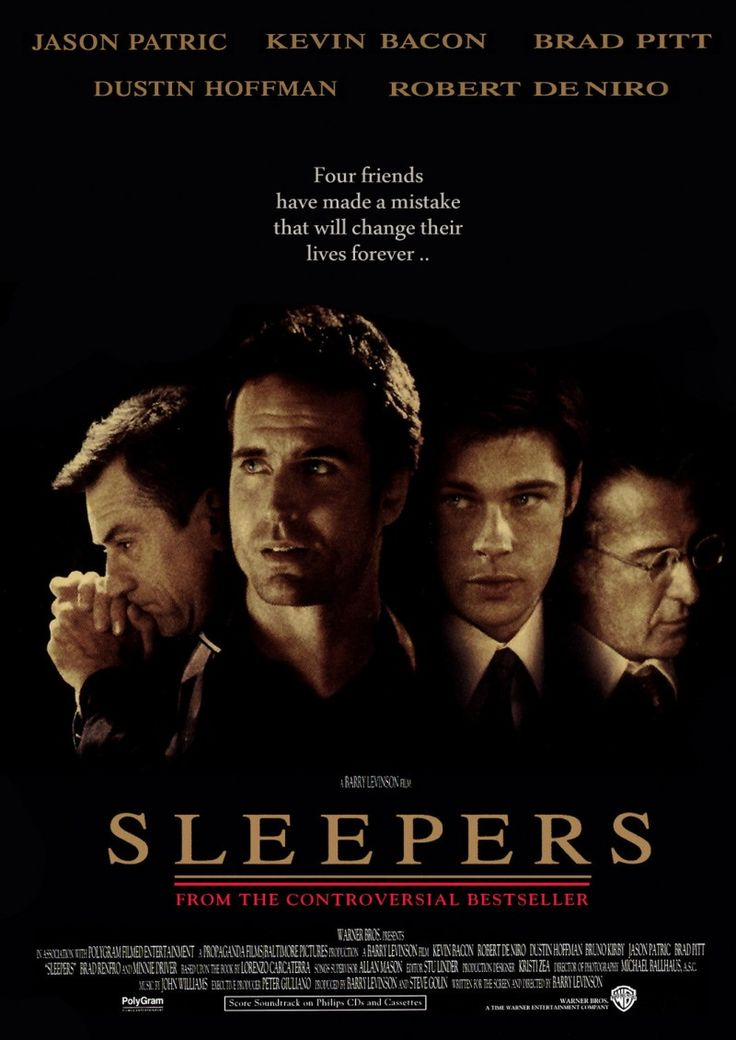 Sleepers (1996)  http://www.imdb.com/title/tt0117665/  http://youtu.be/HQu7BaU6UtA
