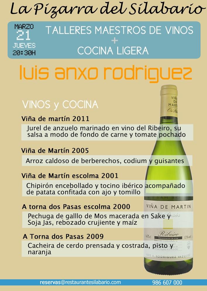 Taller Maestro de Vinos con Luis Anxo