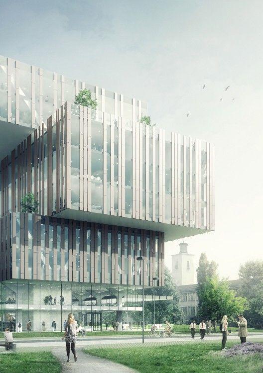 Ector Hoogstad Architecten gaat het gebouw Centre Court op de Chemelot Campus in Geleen ontwerpen.