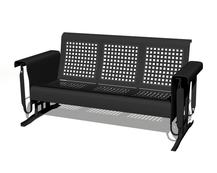localpatio goes backinblack weu0027ll have this much requested glider redo porch - Porch Gliders
