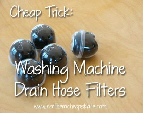 If your washing machine drains into a laundry tub, this simple trick could save you a lot of hassle.