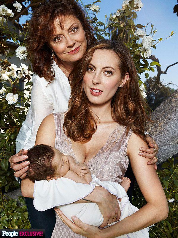 Eva Amurri Martino Introduces Daughter Marlowe Mae http://celebritybabies.people.com/2014/09/10/susan-sarandon-eva-amurri-martino-daughter-marlowe-mae-first-photo/