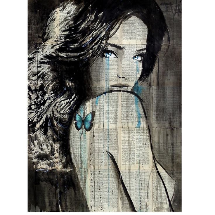 "823 Likes, 12 Comments - Loui Jover (@louijover) on Instagram: ""#louijover #jover #saatchiart #redbubble #society6 #artfinder #bluethumbart #share #bookpages…"""