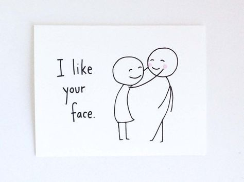 Cute Love Card for Boyfriend // Anniversary by EuclidStreetShop