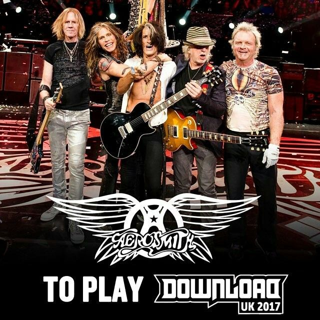 Aerosmith bid farewell to the UK at Download Festival 2017