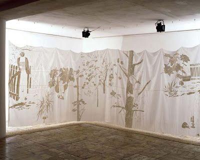 artburda: Ewa Kuryluk, Ogród Effi Briest (1982), Galeria ZPAP, Warszawa, 1994