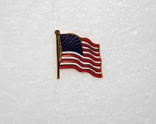 american flag lapel