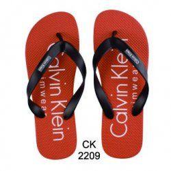 CHINELO CALVIN KLEIN VERMELHO C/ PRETO - CK-2209