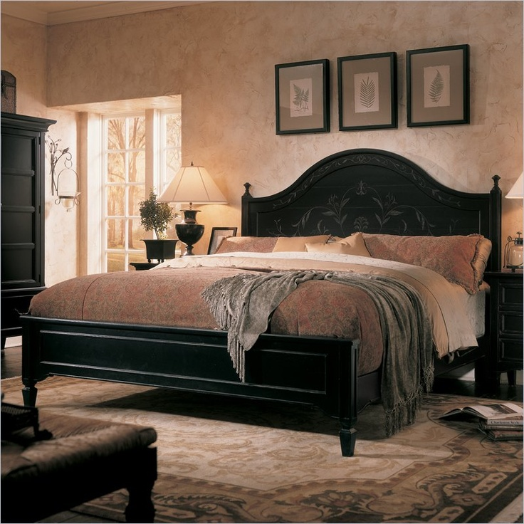 Distressed Black Bed Painted Furniture Pinterest Colors Black Beds And The O 39 Jays