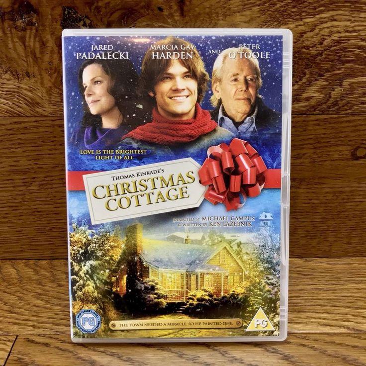 Thomas Kinkade's Christmas Cottage DVD Film Movie 2008 Jared Padalecki miracles