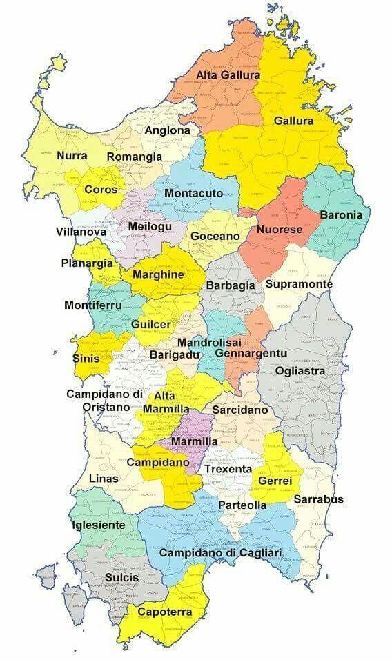 Microregioni di Sardegna